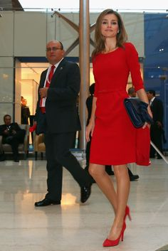 MYROYALS  FASHİON - MYROYALS  FASHİON - Princess Letizia and Prince Felipe attended the 125th IOC Session -2020 Olympics Host City Announcement at Hilton Hotel in Buenos Aires