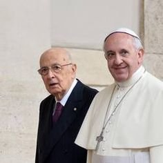 11/14/2013--  Greater efforts need to be made to protect jobs and the family, Pope tells Italian President