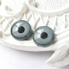 10PCS Cutie round eyes pupils plastic flat back by craftsutopia, $2.90