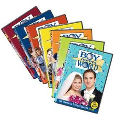 Boy Meets World DVD set  WANT. Possibly the BEST tv show ever.