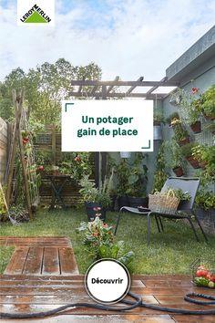Balcony Garden, Garden Plants, Garden Bugs, Potager Garden, Wooden Gates, Green Garden, Porch Decorating, Life Hacks, New Homes