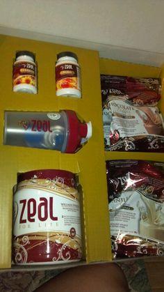 Zeal for Life weight management kit!  www.myeliagerald.zealforlife.com