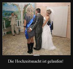 Die Hochzeitsnacht ist gelaufen! | Lustige Bilder, Sprüche, Witze, echt lustig