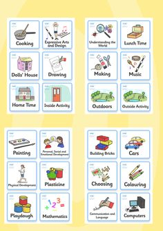 Twinkl Resources >> Visual Timetable- Nursery FS1 >> Printable resources for Primary, EYFS, KS1 and SEN. Thousands of classroom displays and teaching aids! Class Management, Nursery, FS1, Timetables