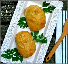 chicken en croute with herbed butter | Wildflour's Cottage Kitchen #Herbilicious