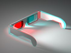 3D - anaglyph - 3D glasses