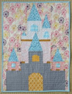 Late last year, I managed to find out about the Disney Mini Quilt Swap just in time to sign up! I had shared a bit about my plans a couple of months ago, and in the end, decided to go with my Fairy Tale Castle pattern. I had planned on making it as Cinderella's castle, …