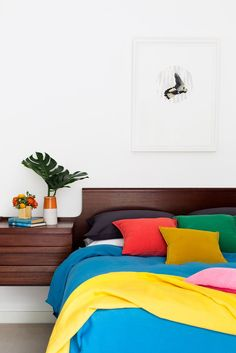 Kooyong Apartment - Picture gallery #architecture #interiordesign #bedroom #colours