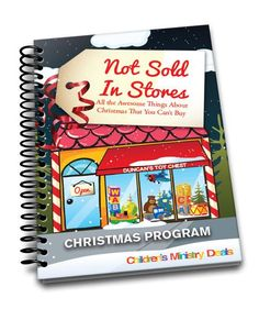 Not Sold In Stores Children's Ministry Christmas Program will teach kids about God's gifts of Peace, Joy, Love, and Giving that Jesus brought into the world.