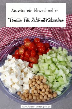 tomaten-feta-salat-mit-kichererbsen-eine-echte-proteinbombe/ delivers online tools that help you to stay in control of your personal information and protect your online privacy. Best Protein Shakes, Protein Shake Recipes, Protein Desserts, Salad Recipes Healthy Lunch, Salad Recipes For Dinner, Tuna Salad Pasta, Feta Salad, Healthy Chicken Pasta, Chicken Salad Recipes