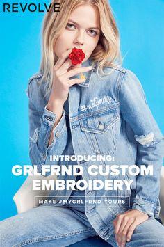 GRLFRND Custom Denim