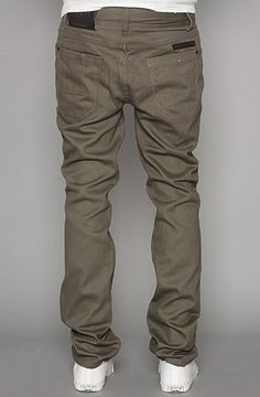 ORISUE The Edison Slim Fit Pants in Olive
