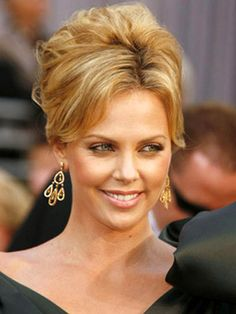 Image detail for -Tredy Celebrities High Updos Hairstyles | Updos for medium length hair