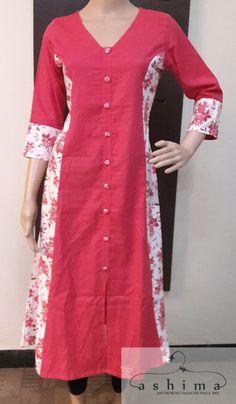 Love the sleeves Salwar Pattern, Kurta Patterns, Dress Patterns, Dress Neck Designs, Designs For Dresses, Blouse Designs, Churidar Designs, Kurta Designs Women, Kurtha Designs