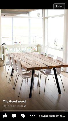 Good Wood spisebord- fantastisk!