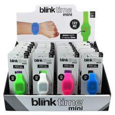 Trendy mini watches, ideal christmas gift for children, stocking fillers, bright, funky and cool, watches, gifts for less than £10, Unisex kids watches, digitial, #blinktime