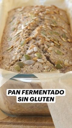 Dairy Free Recipes, Vegan Recipes, Pan Integral, Artisan Bread, Good Healthy Recipes, Vegan Baking, Easy Cooking, Food Videos, Food Inspiration