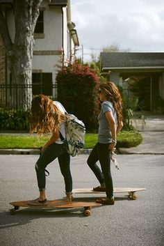 If I had someone to longboard with, I totally would.