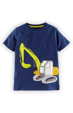 Mini Boden 'Vehicle' Appliqué T-Shirt  at #Nordstrom