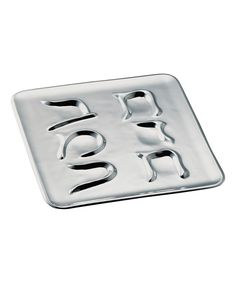 Seder Plate  Nambé  $109.99 (zulily.com) Compare at $225.00    PRODUCT DESCRIPTION:  Serve the six ceremonial foods of the Seder feast with this dignified plate.    14'' x 14''  Nambé® aluminum-base alloy  Hand wash  Imported