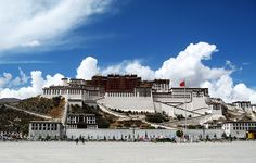 Tibet pictures -architecture