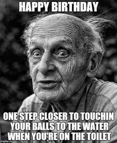 Happy Birthday Funny Meme for Guys