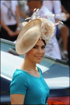 Crown Princess Mary of Denmark attends the wedding ceremony of Prince Albert of Monaco to Charlene Wittstock