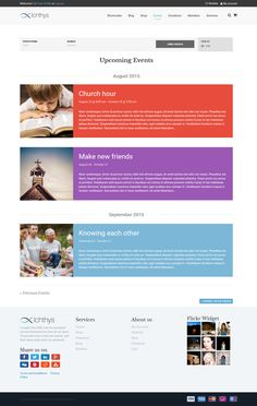 Buy Ichthys - Church WordPress Theme by modeltheme on ThemeForest. New Demo: Fundraising for Coronavirus – View Demo – Coronavirus Fundraising – Each church needs to create . Ichthys, Church Sermon, Church Events, Website Themes, Fundraising Events, Make New Friends, Event Calendar, Upcoming Events, Non Profit