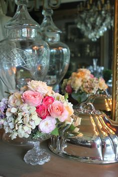 Romancing the Home: Old Rhinestones and Vintage Handbags- Endless Possibilities