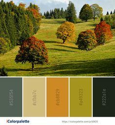 Color Palette ideas from 191 Autumn Images Fall Color Palette, Colour Pallette, Color Palate, Color Combos, Find Color, Color Of Life, Soothing Paint Colors, Palette Garden, Paint Color Schemes