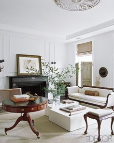 Love the mix of furnishing styles.  A an inviting aesthetic ~  Darryl Carter