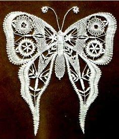 lace Butterflies.