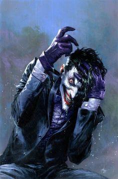Joker by Gabriele Dell'OttoYou can find Comic book tattoo and more on our website.Joker by Gabriele Dell'Otto Joker Batman, Comic Del Joker, Joker Y Harley Quinn, Joker Art, Batman Art, Joker Comic Book, Batman Robin, Gotham Batman, Evil Batman