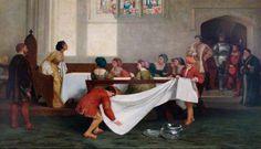 The arrest of Anne Boleyn.