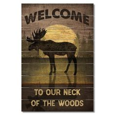 Loon Peak From everyday great sayings to farmhouse, coastal, inspirational, and ranch, we have a sign for everyone. Hunting Lodge Decor, Hunting Cabin, Hunting Lodge Interiors, Hunting Signs, Rustic Cabin Decor, Country Decor, Rustic Cabins, Country Chic, Rustic Wood