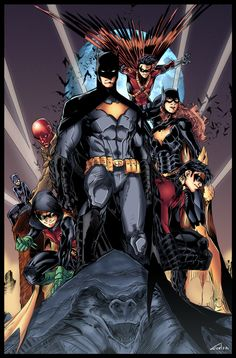 The Bat-Family by ~Furlani on deviantART