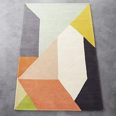 "division rug 8'x10"" | CB2"