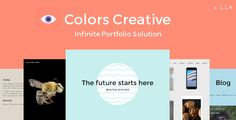 Colors Creative – Portfolio Wordpress Theme - Portfolio Creative