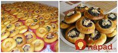 Zázračné cesto na moravské koláče bez kysnutia: Najlepší recept od mojej svokry, pečie ich aj na svadby! Toffee Bars, Biscuit Cookies, Tiramisu, Tart, Waffles, Biscuits, Food And Drink, Bread, Cooking