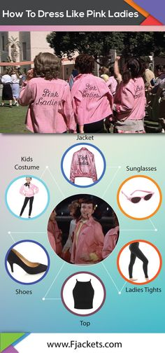 Pink Ladies Halloween Costumes