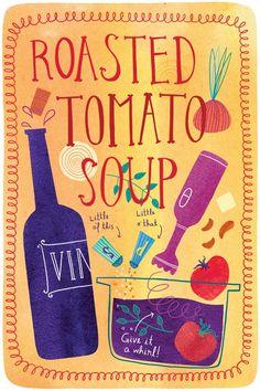 Roasted Tomato Soup || Marisa Seguin