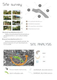 วิเคราะห์ Site Analysis, Architecture Portfolio, Layout, Page Layout