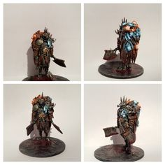 Butcher painted by Gary Sailor