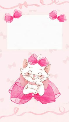 Cute Wallpapers Disney The Aristocats Ipod Wallpaper, Disney Phone Wallpaper, Kitty Wallpaper, Cellphone Wallpaper, Mobile Wallpaper, Wallpaper Quotes, Screen Wallpaper, Marie Cat, Disney Cats
