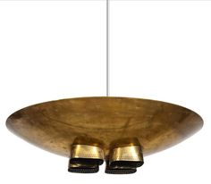 by Paavo Tynell Copper Lighting, Flush Mount Lighting, Cool Lighting, Lighting Design, Pendant Lighting, Luminaire Vintage, Vintage Lamps, Hanging Light Fixtures, Hanging Lights