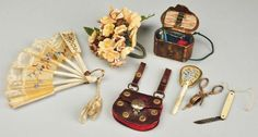 doll accessories 1865 | French Fashion Doll Accessories