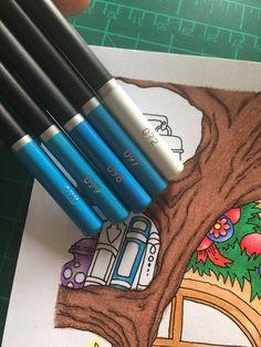 Colouring Techniques, Colour Combinations, Colored Pencils, Art Supplies, Coloring Pages, Organizing, Castle, Products, Color Combos