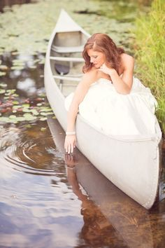 Arkansas, Portrait, Pond, White Dress, Fine Art, Wedding Dresses, Beauty, Fashion, White Photography