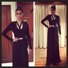 Sonam Kapoor head to toe in Elie Saab.