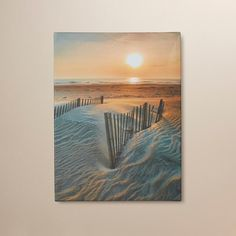 You'll love the Sunrise Over Hatteras by Steve Ainsworth Photographic Print on Wrapped Canvas at Wayfair - Great Deals on all Décor  products with Free Shipping on most stuff, even the big stuff.
